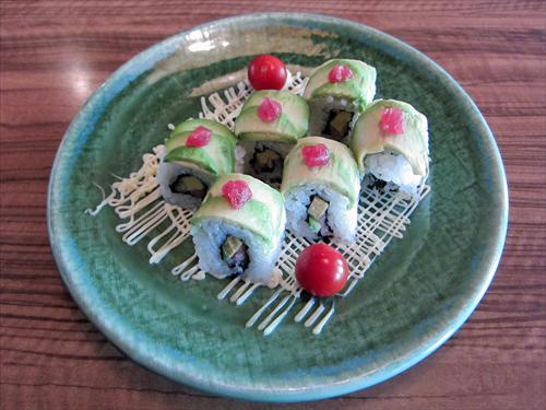 写真6ロール寿司
