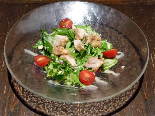 西安餃子7鶏唐グリーンサラダ