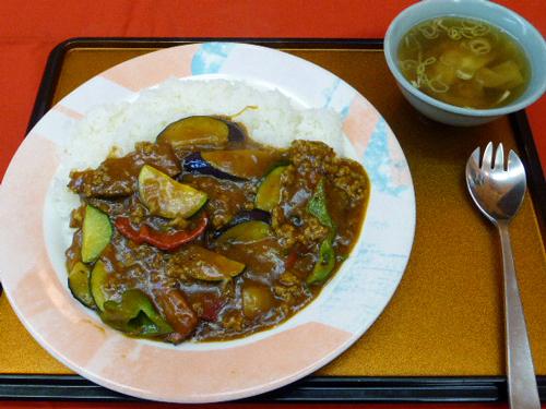 三好飯店5季節野菜の夏カレー