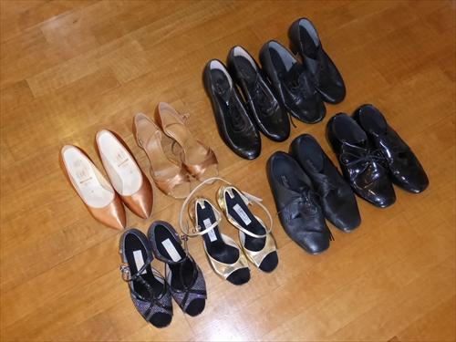 TOMOダンスカンパニー7レンタル靴